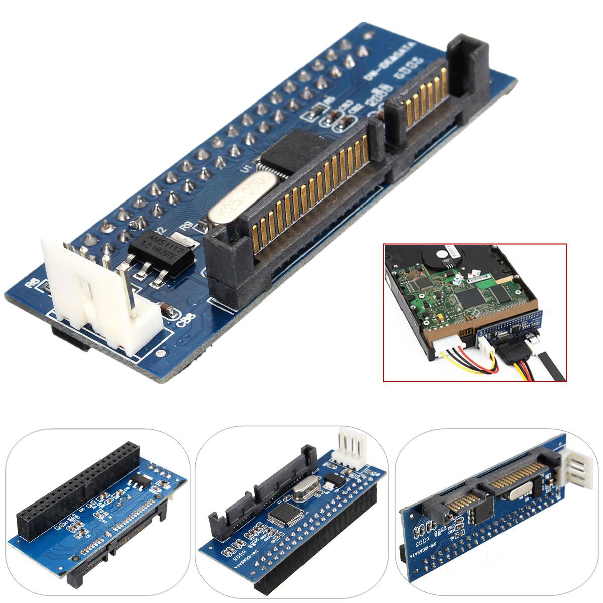 40 pin ide to sata 7 22 pin adapter pata to sata card lazada ph