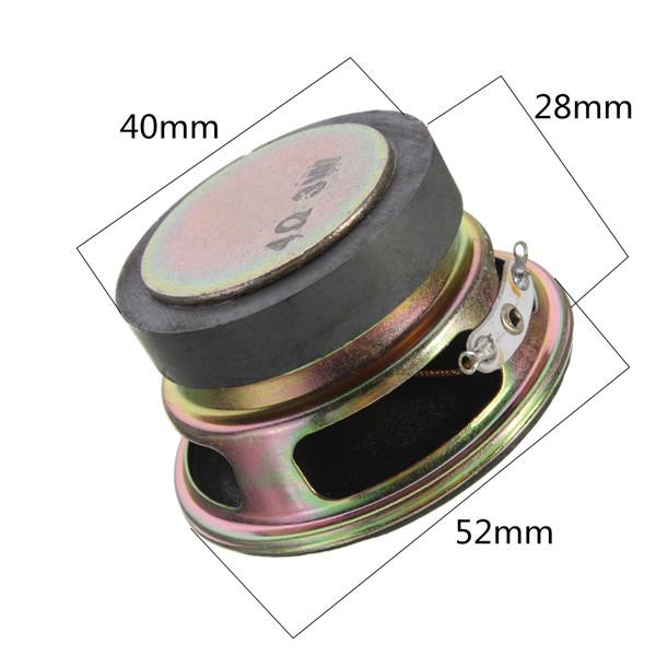 2 Inch 4Ohm 4Ω 3W Full Range Audio Stereo Loudspeaker (5)