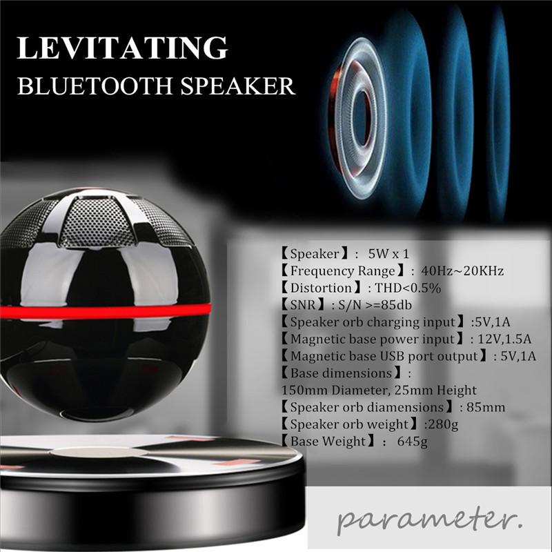Hot Portable Levitating Bluetooth Speaker Floating Speaker