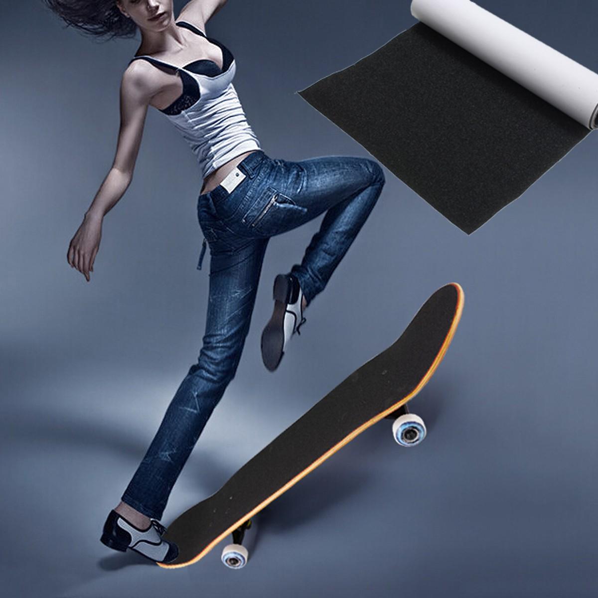 perforated grip tape sand paper skateboard skate scooter sticker 81 cm 22 cm lazada singapore. Black Bedroom Furniture Sets. Home Design Ideas