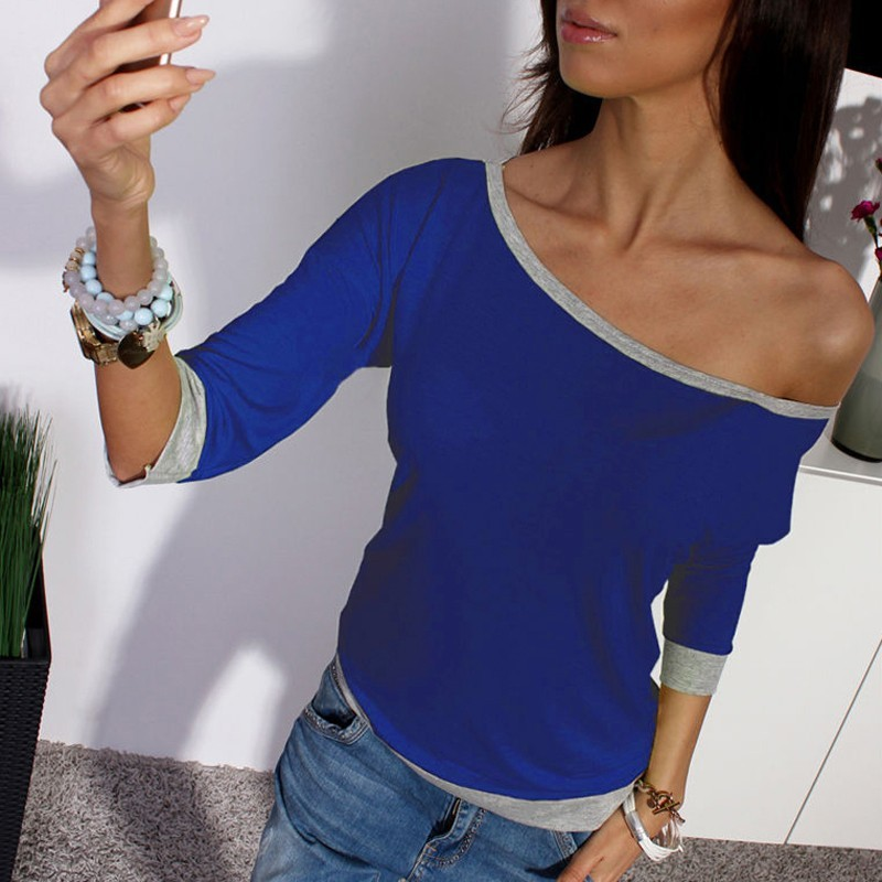 zanzea women off shoulder casual clubwear sexy ladies tops