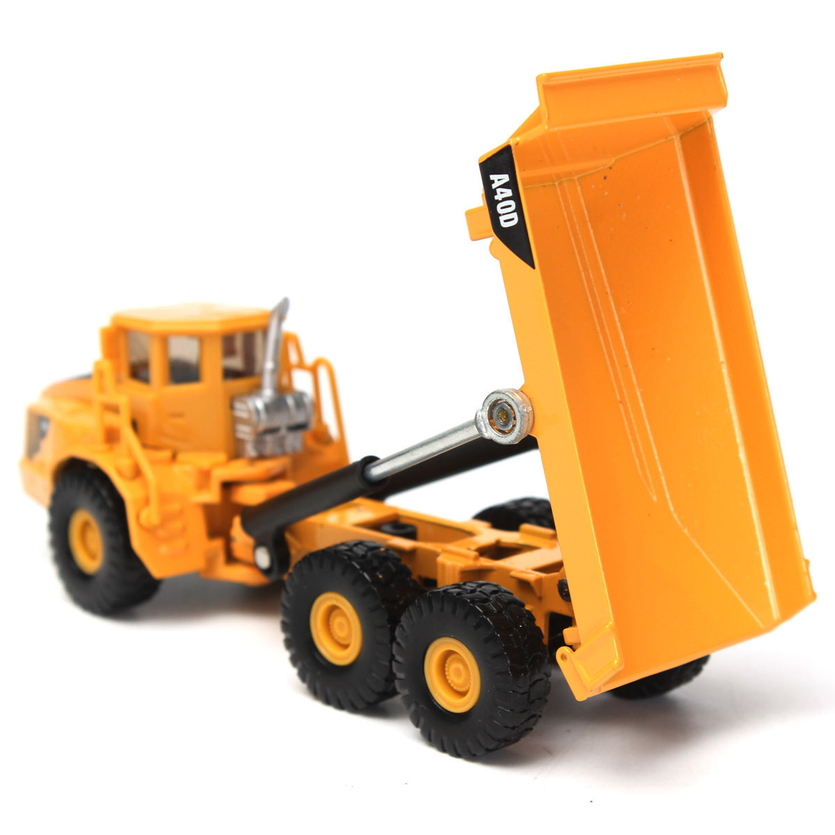 1:87 Scale Alloy Diecast Dump Truck Construction Vehicle Cars Lorry To