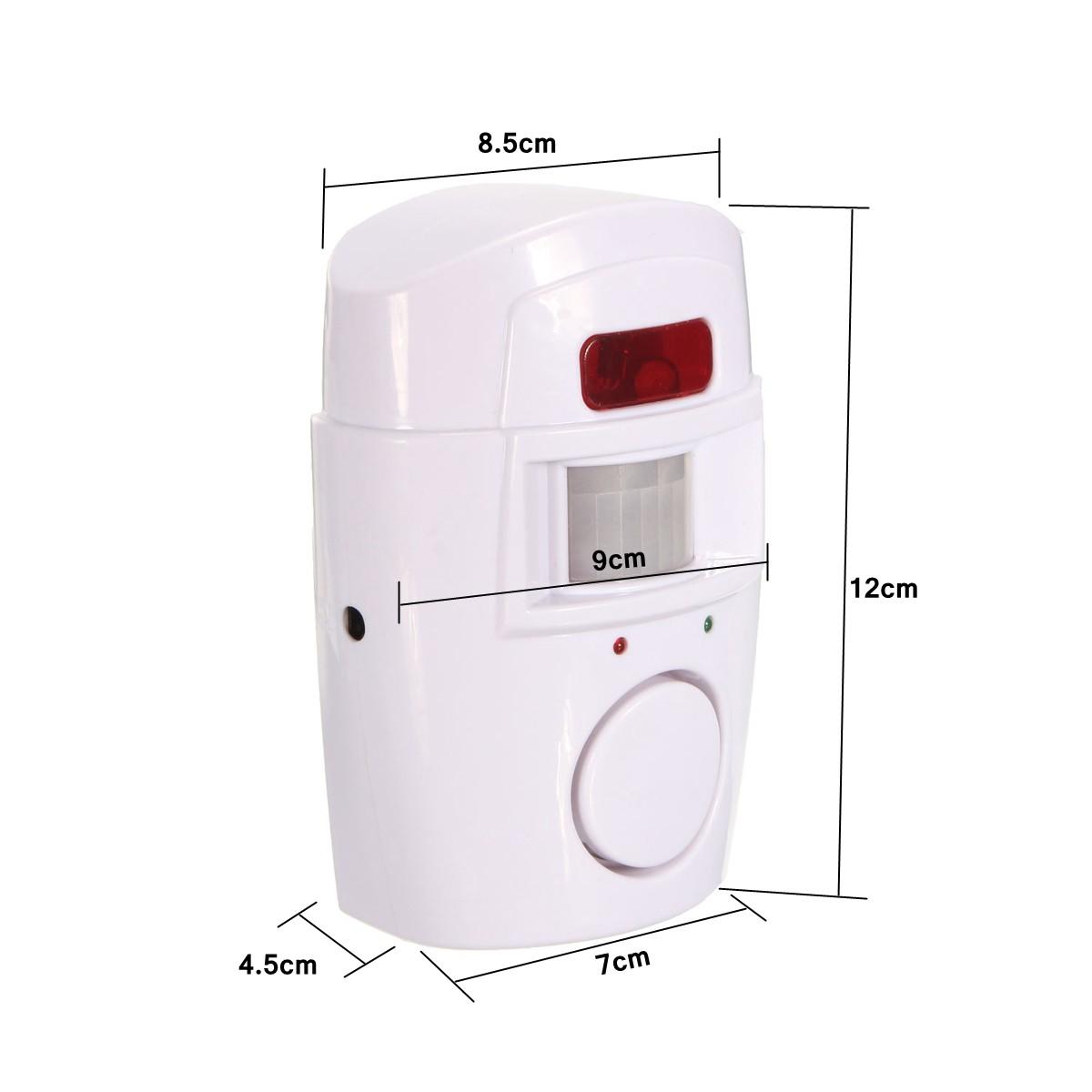 Remote Control Wireless Chime Motion Sensor Security Alarm