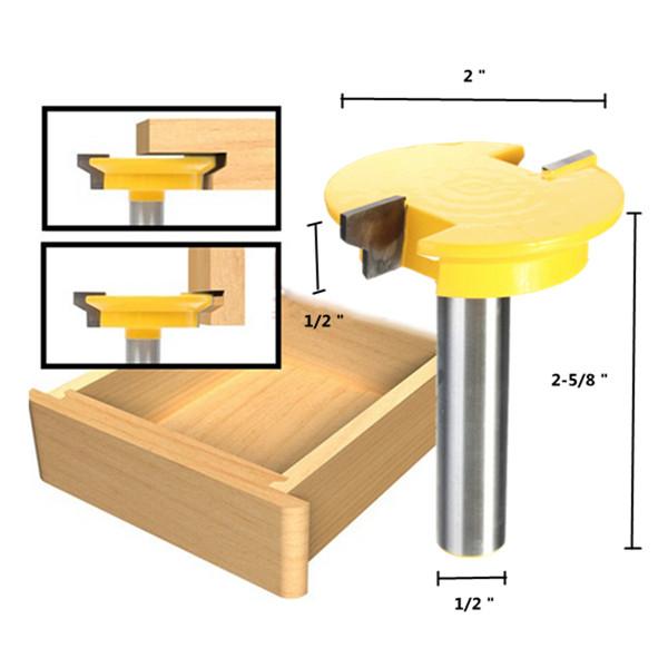 1 2 inch shank rail stile router bit shaker woodworking for Casa stile shaker