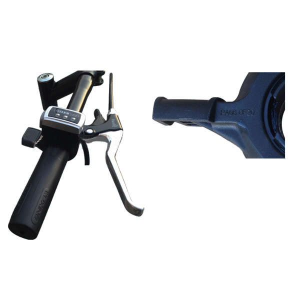 7/8 elektrisches Fahrrad-Lenkstange-Geschwindigkeit Batterie Anzeigedaumen-Drossel mit Selbstverschluß