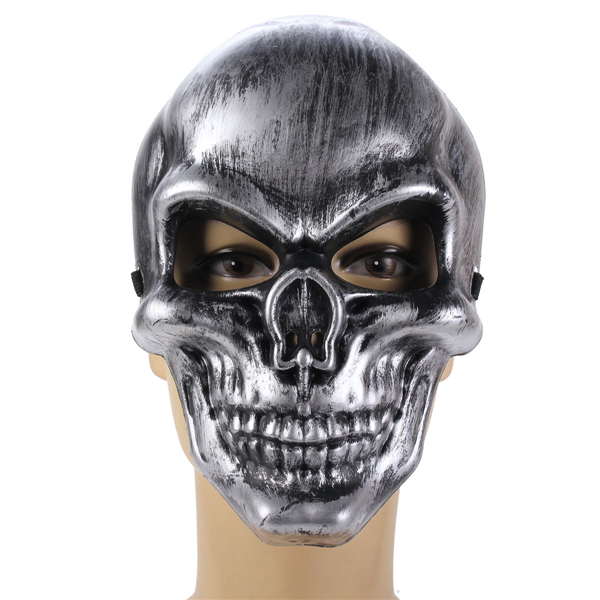 Korku Kafa Tası Maske Cadılar Bayramı Masquerade Karnavalı Partisi
