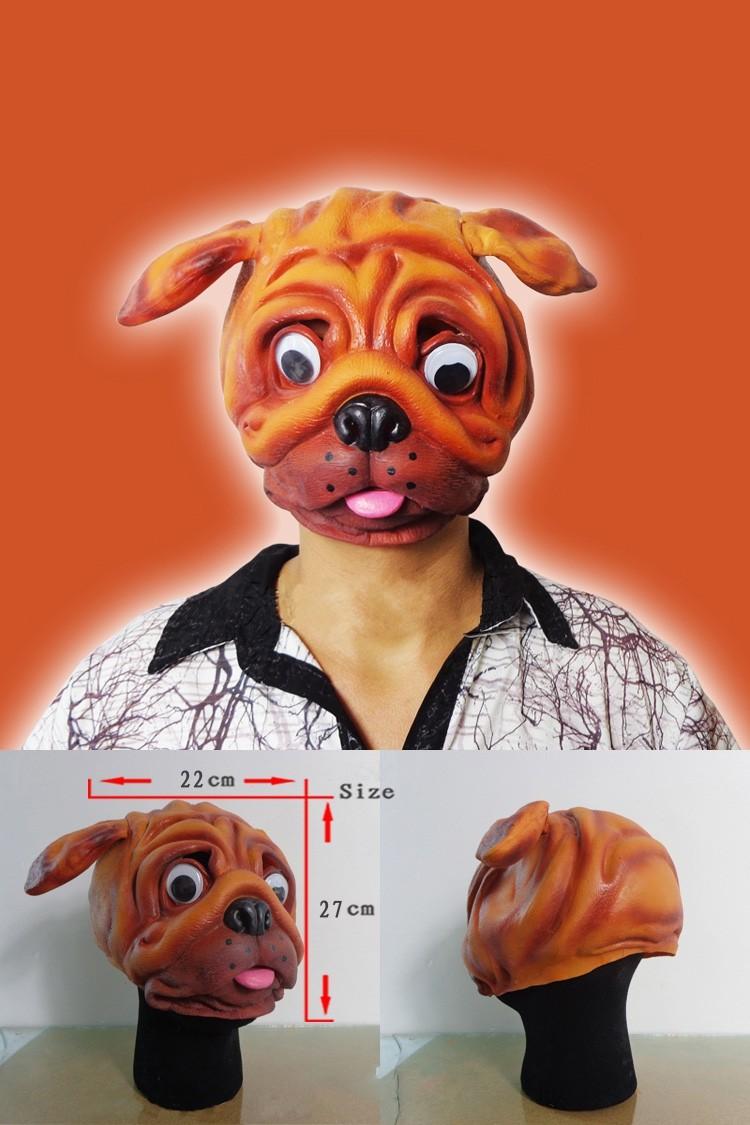 Halloween cane leone gatto lupo animale lattice maschera di protezione del partito del costume