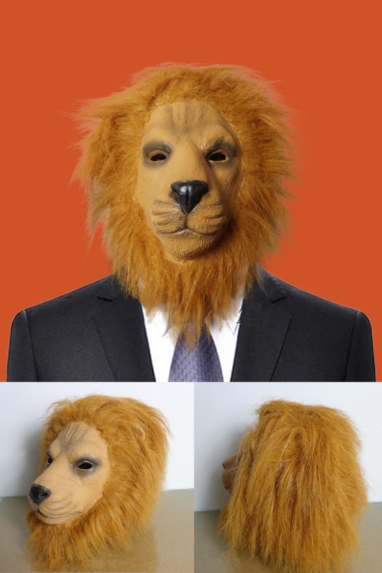 maschera animale