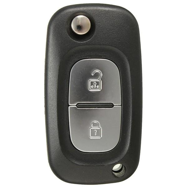 2B Entry Flip Fold Remote Key Case for Renault Modus/Kangoo/Scenic/Clio/Megane