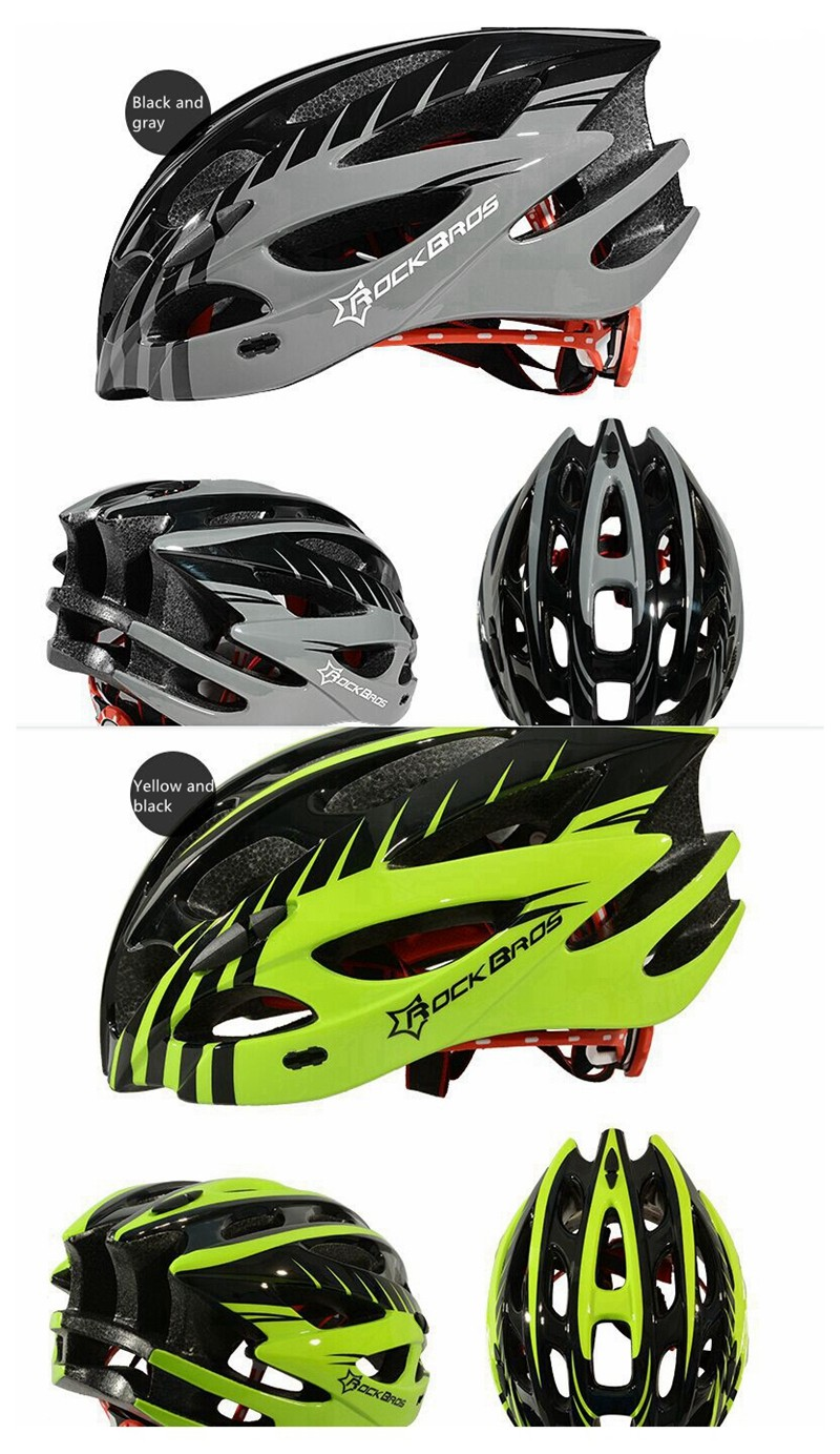 ROCKBROS Ultralight Integral Molded Riding Helmet MTB Road Fiets Unisex Riding Equipment