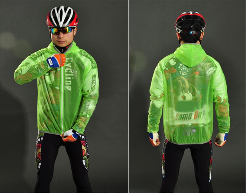 ROCKBROS Unisex Windproof Bicycle MTB Fixed Gear Bike Raincoat