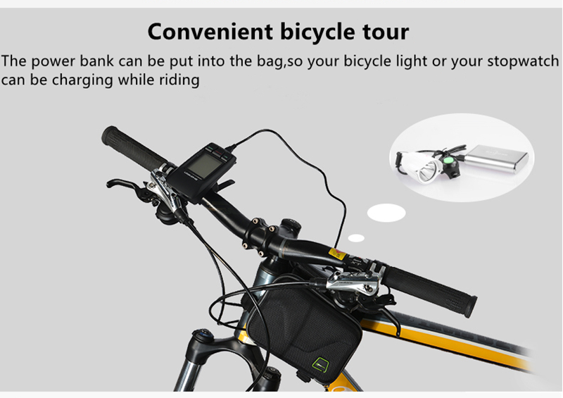 ROCKBROS MTB Saddle Bag Touch Screen Mobile Phone Package Bicycle Front Bag