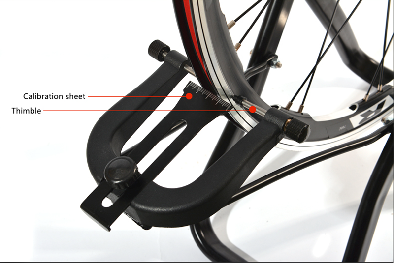 how to build a bicycle wheel truing stand