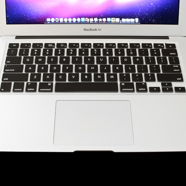 Silicon USキーボード・スキン プロテクト・フィルム  Macbook Air 13.3 インチ用