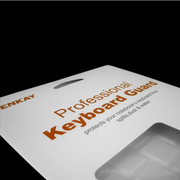 Pelle impermeabile etichette di protettore di copertura di tastiera di computer portatile tpu chiare per macbook 11 13 15