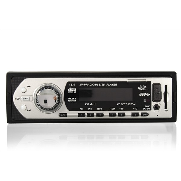 25w X 4ch Auto Car Radio Stereo Audio In Dash Aux Input: Car Auto Stereo Audio DIN In-Dash Aux Input Receiver SD