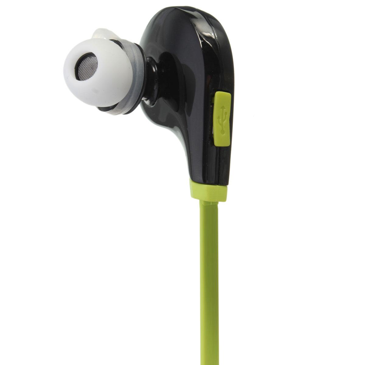 stereo bluetooth sport headset listen mobile phone music black green lazada ph. Black Bedroom Furniture Sets. Home Design Ideas