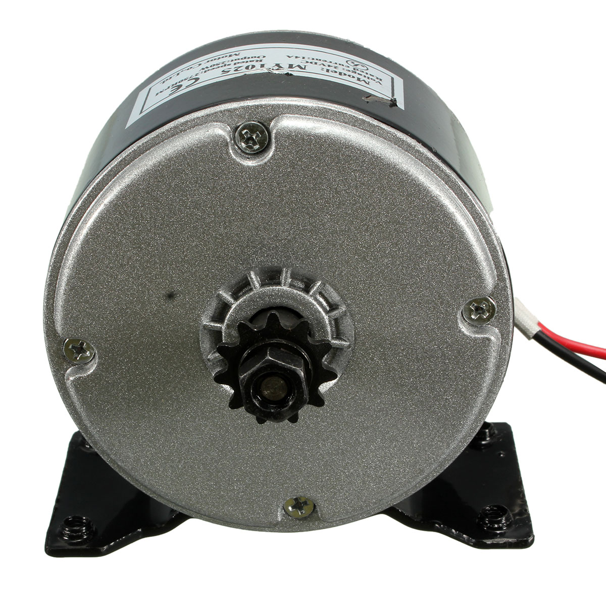 24v Dc Electric Motor Brushed 250w 2750rpm 2 Wired Chain