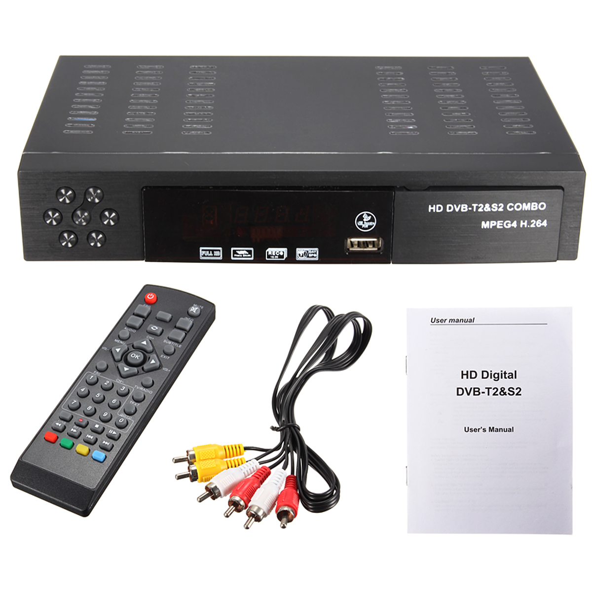 full hd 1080p dvb t2 s2 video broadcasting satellite receiver set up box tv hdtv uk lazada. Black Bedroom Furniture Sets. Home Design Ideas