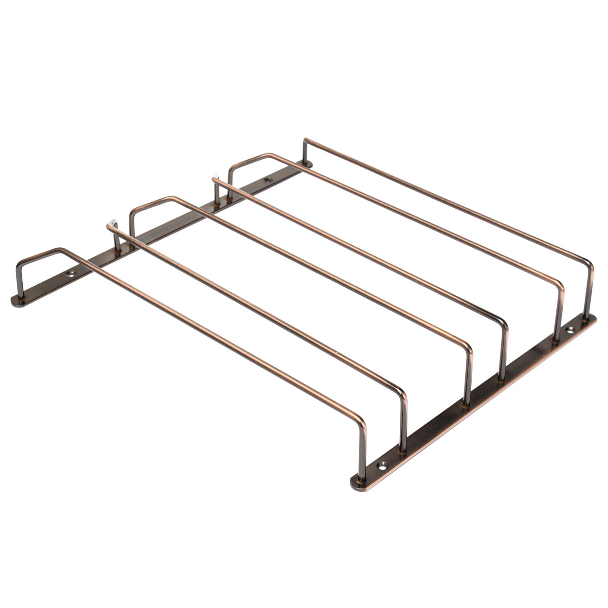 Stainless Steel Wine Glass Rack Hanger Bar Home Cup Glass