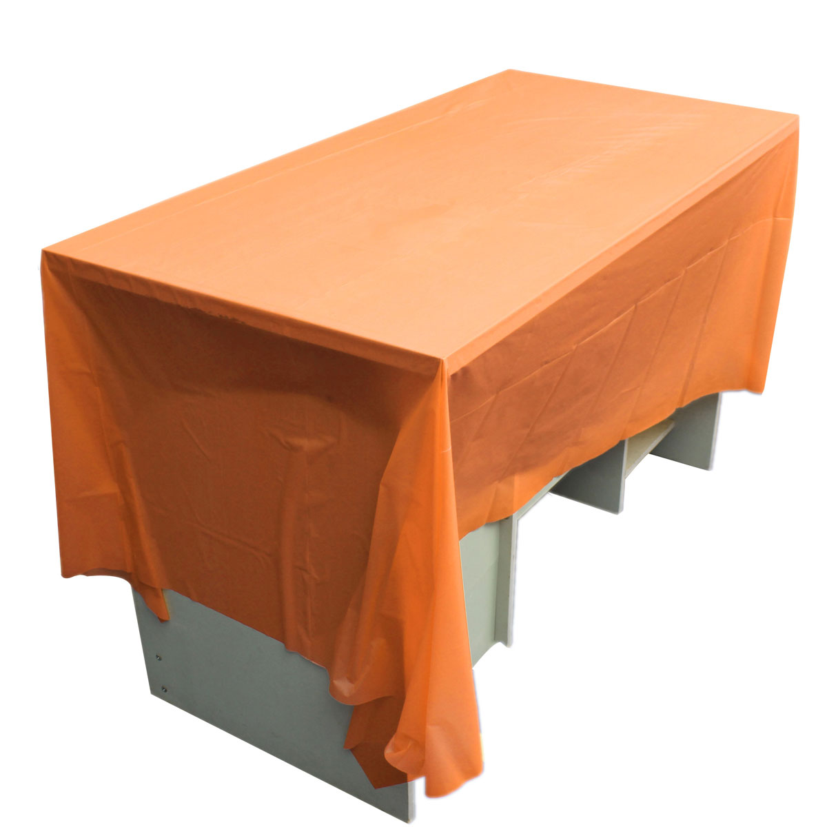 Solid Color Plastic Tablecover Table Cover Cloth Cloths