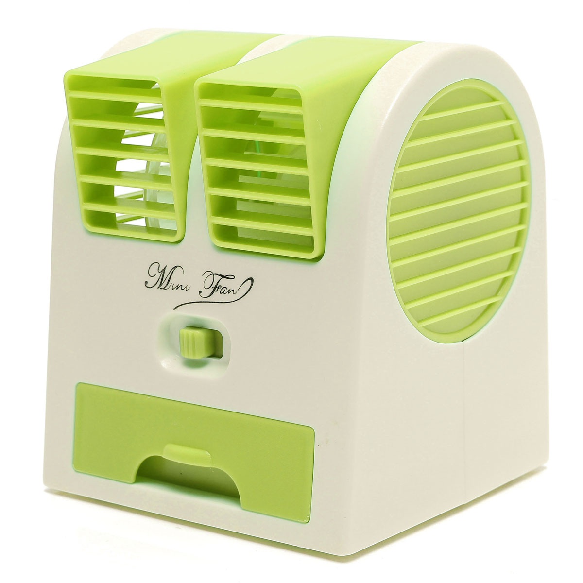 Desktop Dual Bladeless Air Conditioner NEW Green Lazada Malaysia #4B6809
