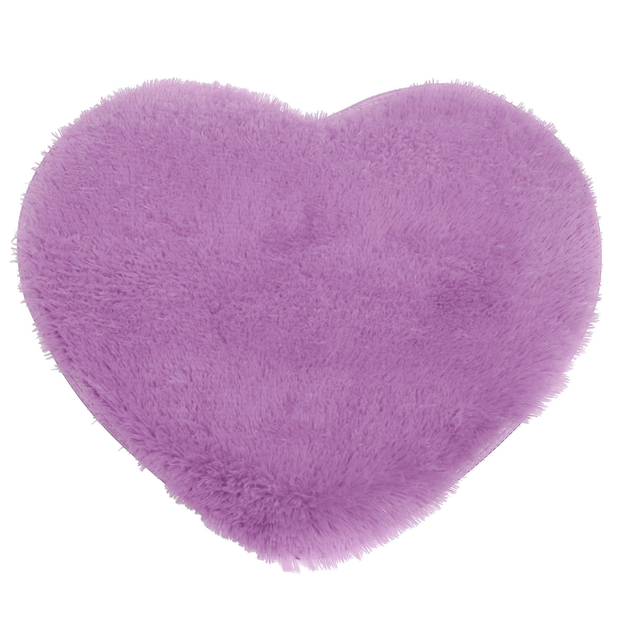 Heart Fluffy Mat Rugs Kids Soft Girls Boys Fake Faux Fur