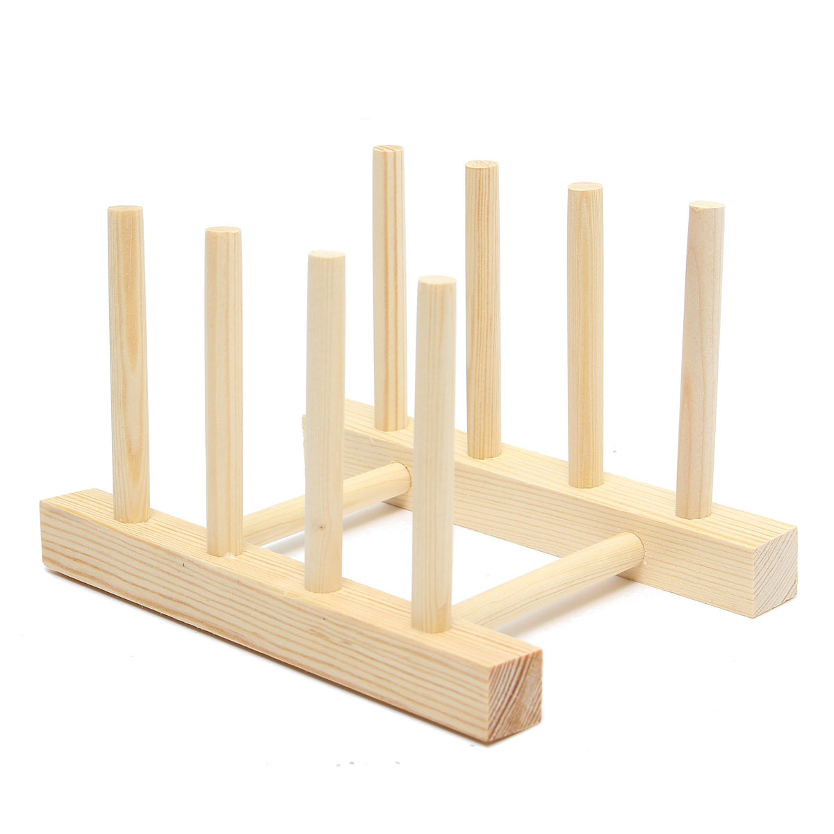 Wonderful image of Kitchen Wooden Sink Dish Plate Drainer Books Rack Holders Stand Plates  with #9C7830 color and 1200x1200 pixels