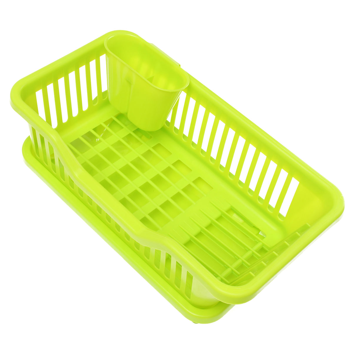 4-Color Kitchen Dish Drainer Drying Rack Washing Holder ...
