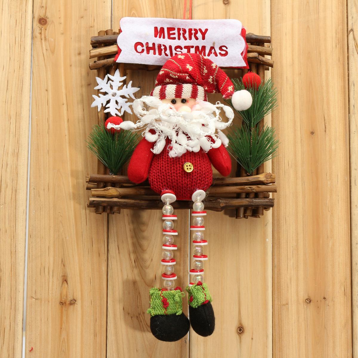 #AD1E21 Père Noël Santa Suspendu Pr Arbre Sapin De Noël Ornement  5319 decorations de noel a vendre 1200x1200 px @ aertt.com