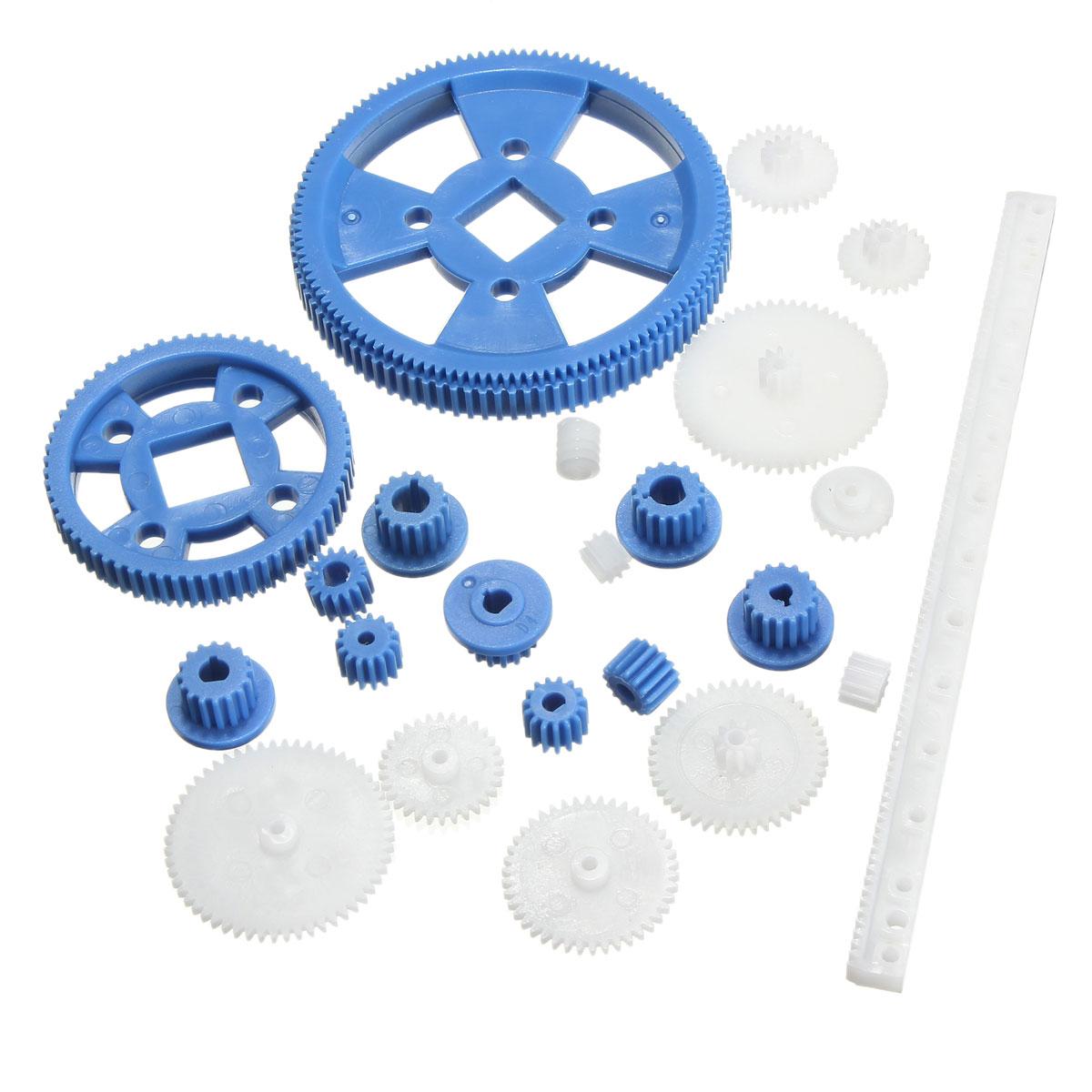 MEGA Plastic Gear Gearbox Motor Gear Remote Control Car