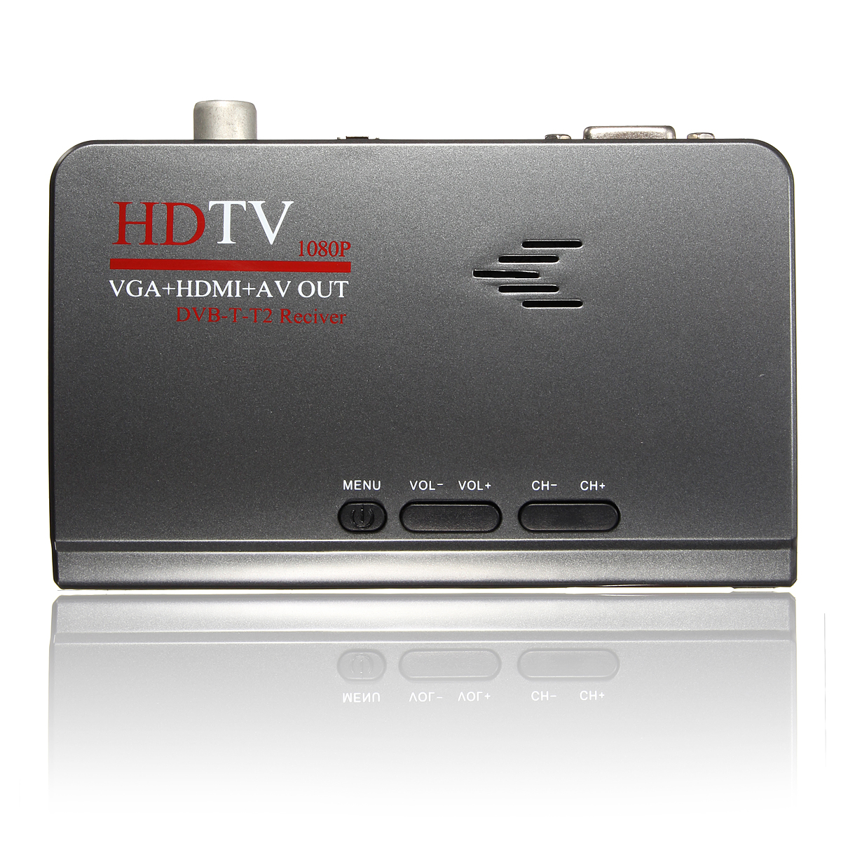Digital Terrestrial HDMI 1080P DVB-T T2 TV Box VGA AV CVBS