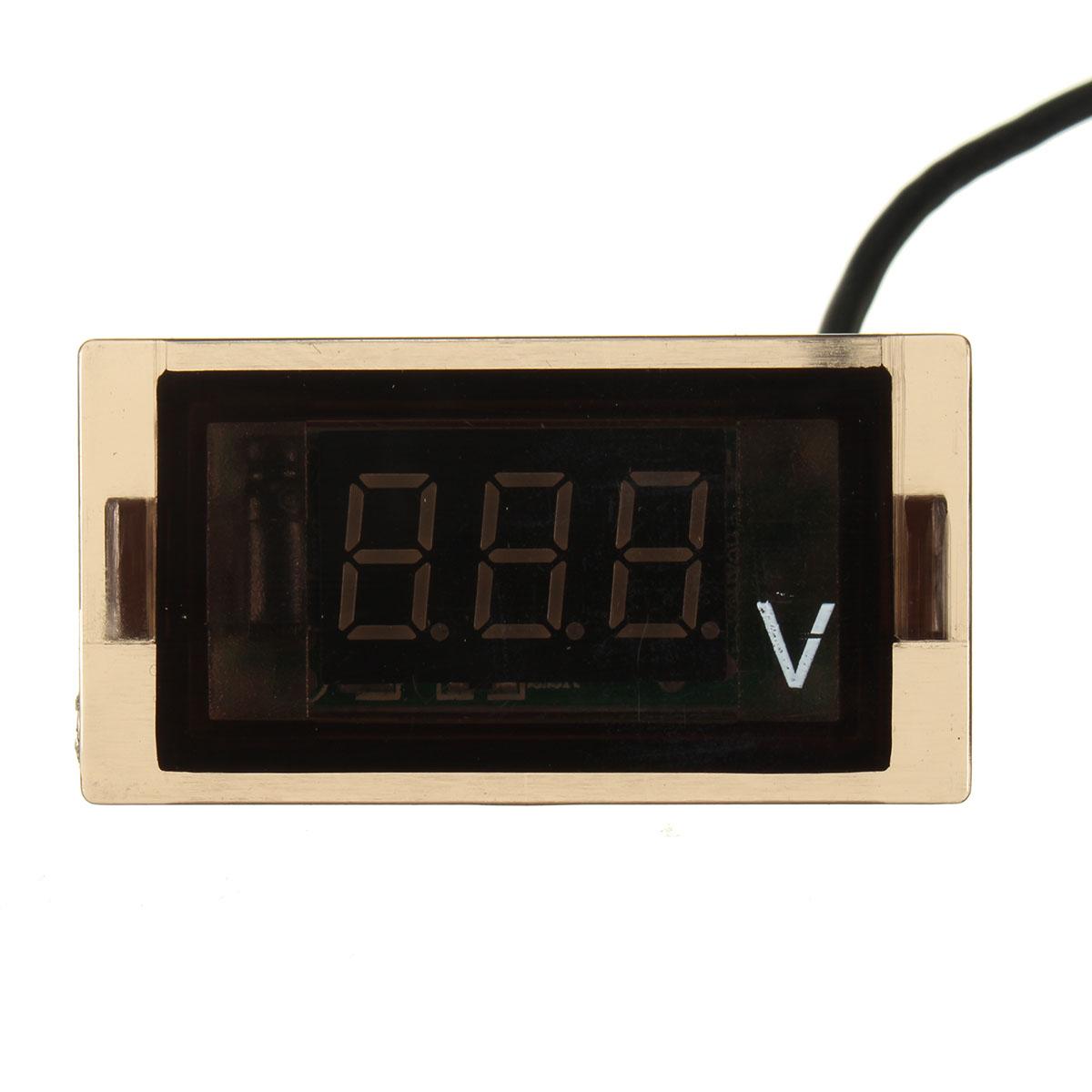 Digital Display Panel : Dc v led digital display panel volt meter voltage