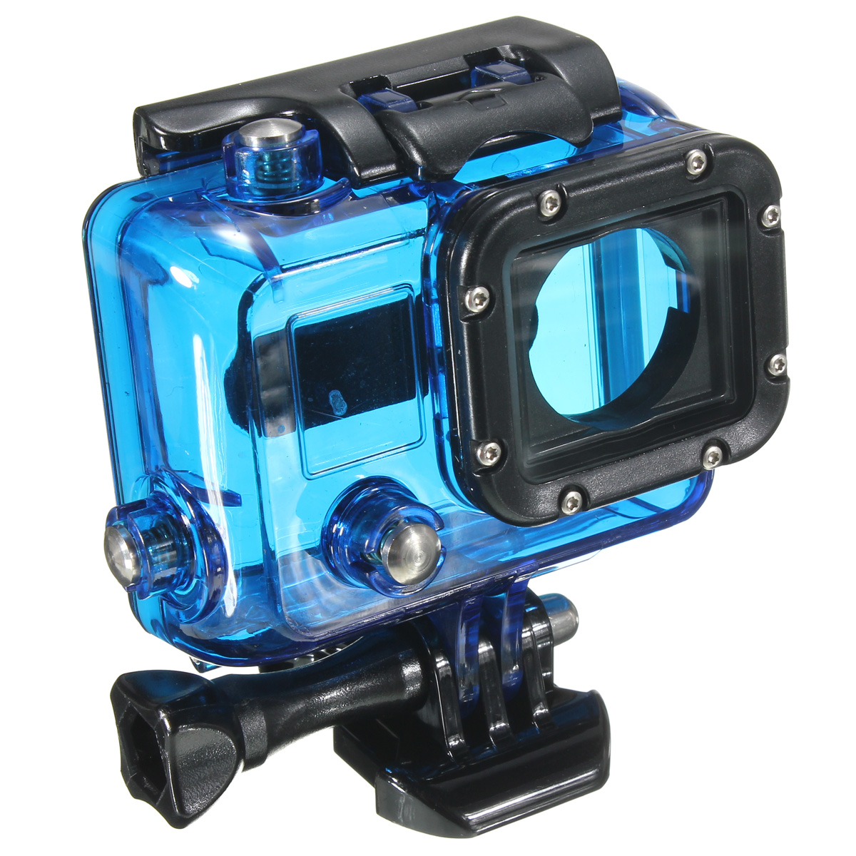 waterproof protective case for camera gopro hero 3 3 4. Black Bedroom Furniture Sets. Home Design Ideas