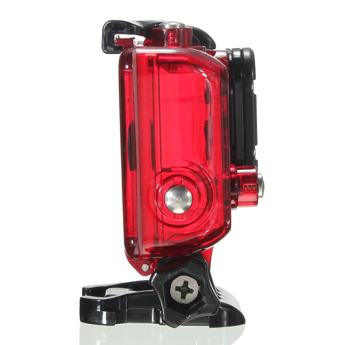 waterproof protective case for camera gopro hero 3 3 4 red lazada ph. Black Bedroom Furniture Sets. Home Design Ideas