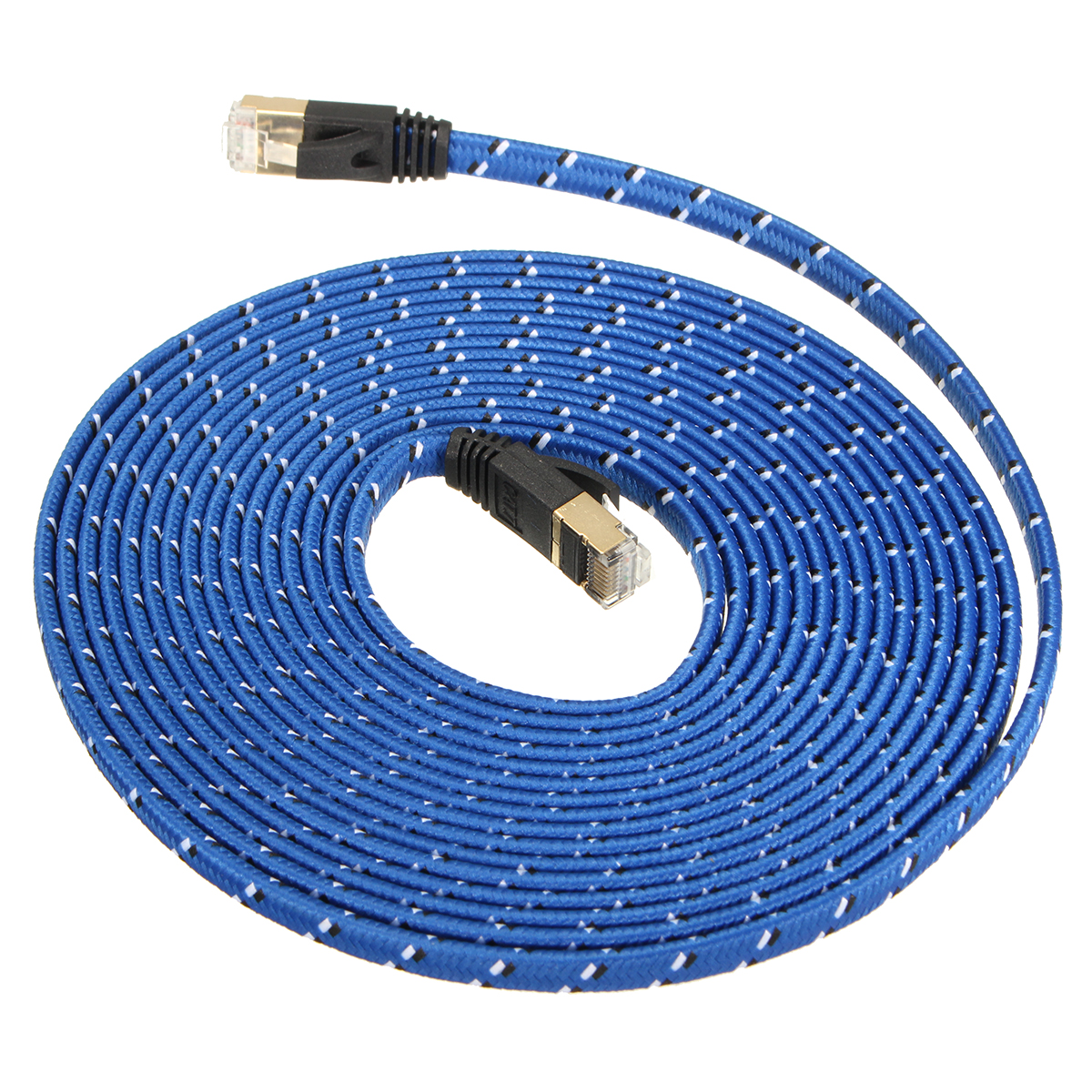 Type Fcc Flat Conductor Cable : M durable strong cat rj gbps ethernet flat