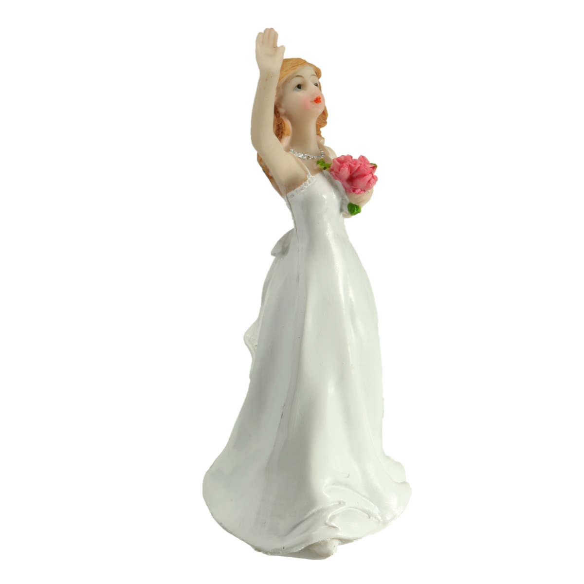 Fishing Bride and Groom Funny Wedding Cake Toppers