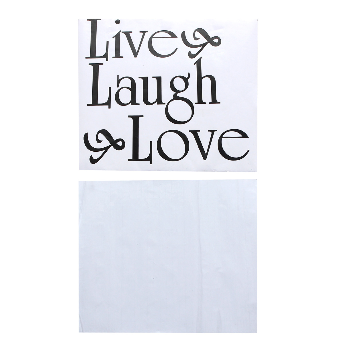 Live laugh love diy removable decal home room decor wall for Room decor lazada