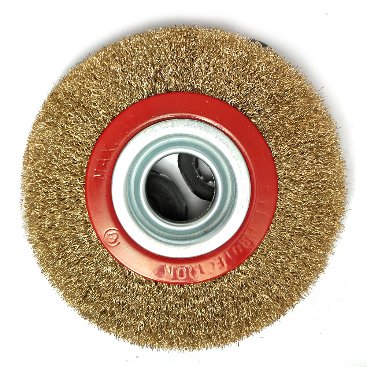 6 150mm Steel Wire Wheel Brush Amp Adaptor Rings For Bench