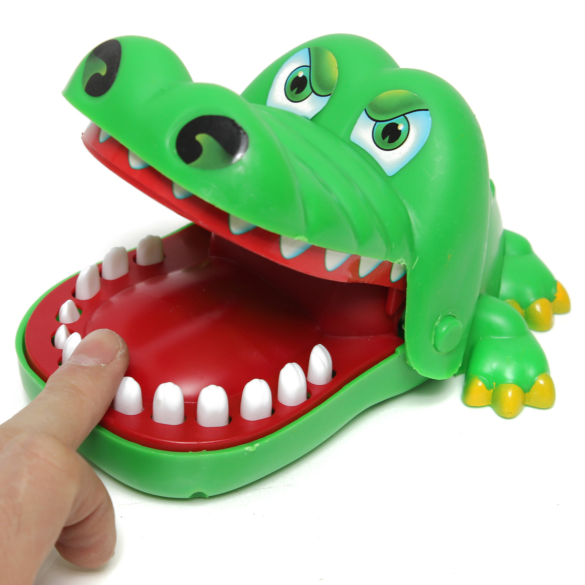 Toys For Biting : Big crocodile mouth dentist bite finger game toy family