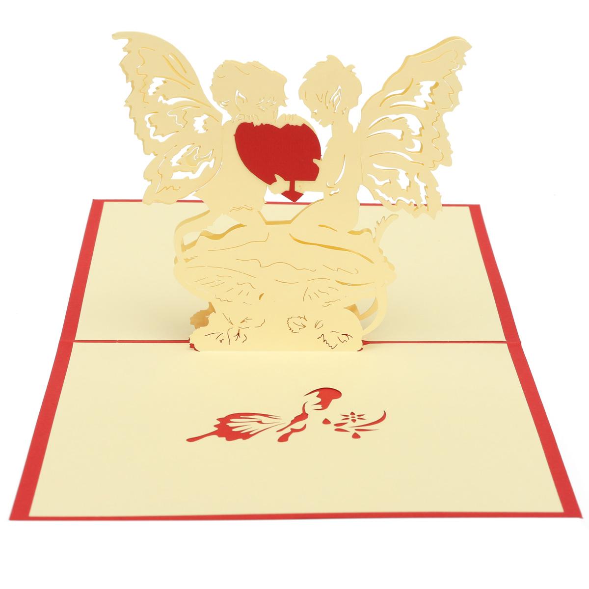 3 me mariage fait la main valentines carte d 39 invitation de carte de v ux comm morative chez. Black Bedroom Furniture Sets. Home Design Ideas