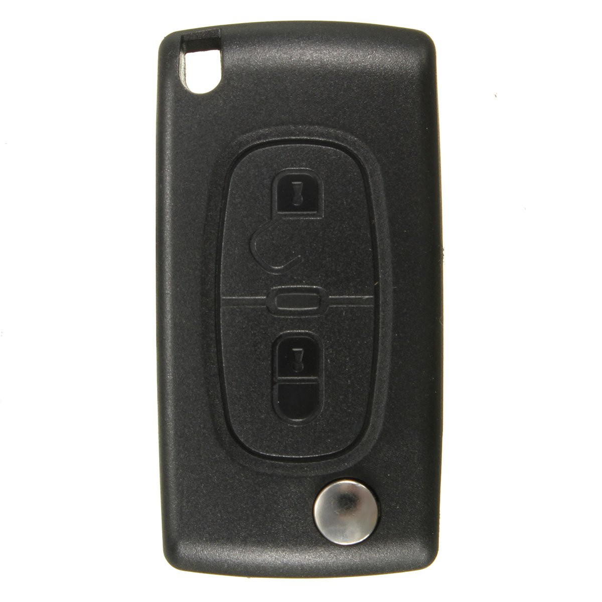 Fits To Peugeot 207 307 308 2 Button Remote Key 433mhz