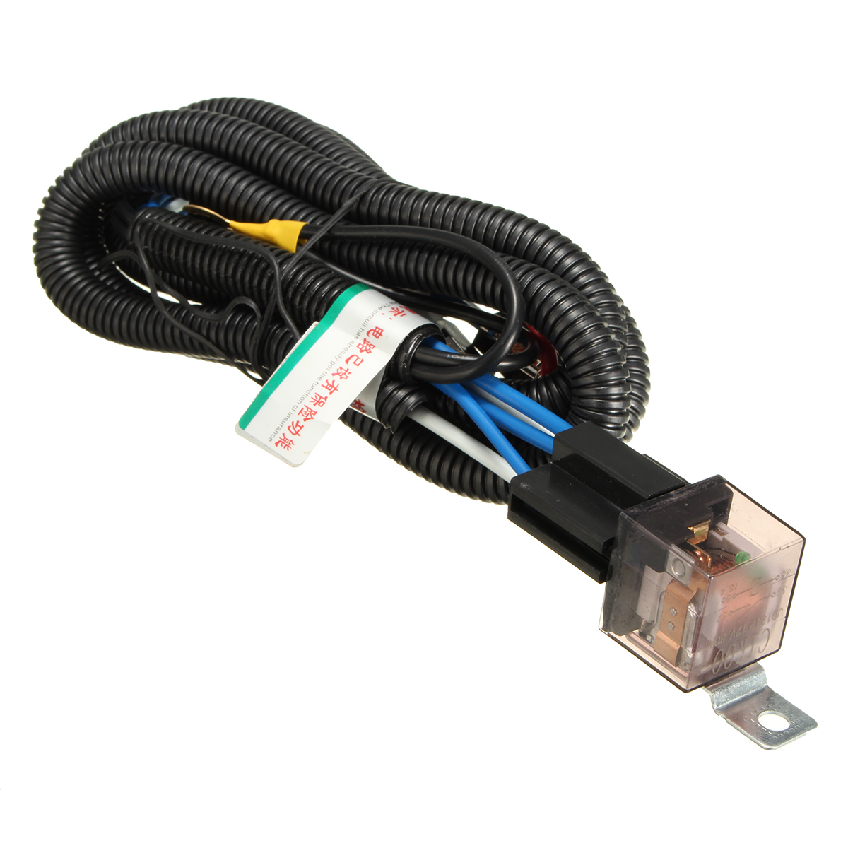 Car Horn Wiring Harness : Car horn relay wiring harness kit for grille mount blast