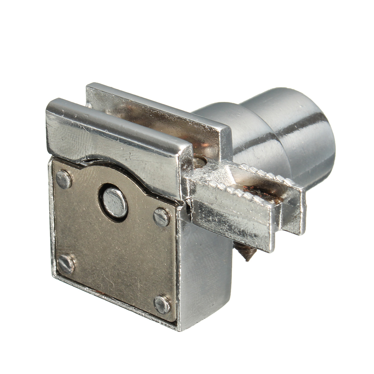 Slide Lock For Glass Door: 2 Keys Chrome Display Showcase Drawer Glass Cabinet