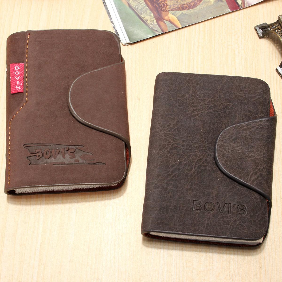 Homme porte carte cr dit cuir porte monnaie poche bourse for Porte carte homme