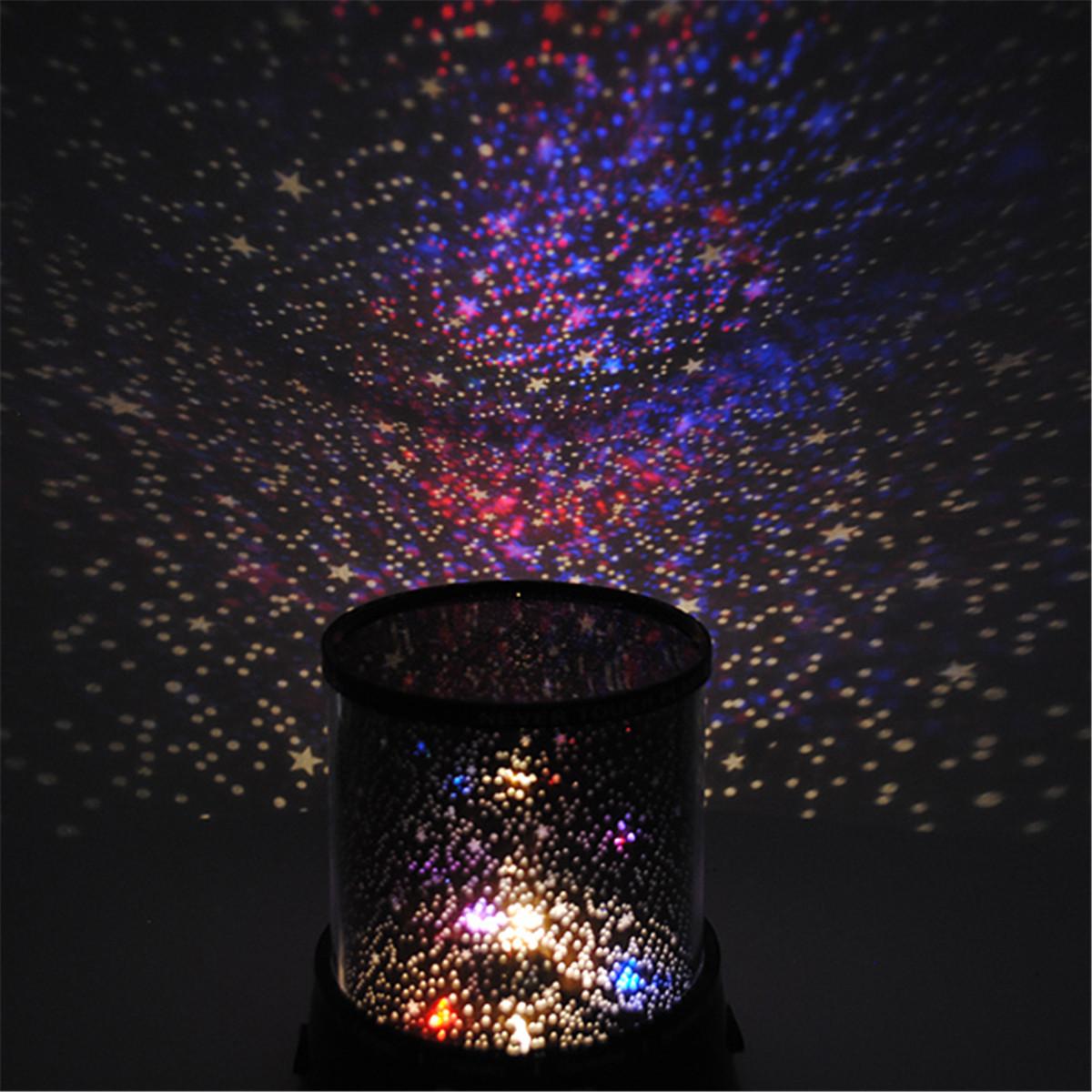 Night light projector lamp - Romantic Led Starry Night Sky Projector Lamp Xmas Gift Star Light