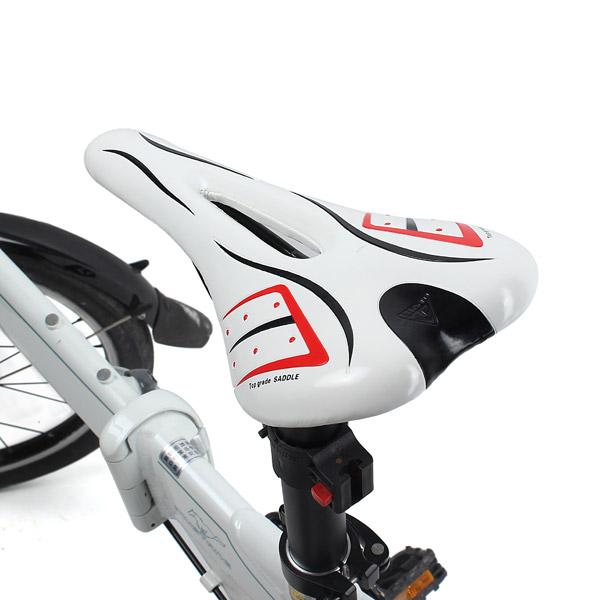 Открытый велосипед Велоспорт V форма губки седла седло полого седла
