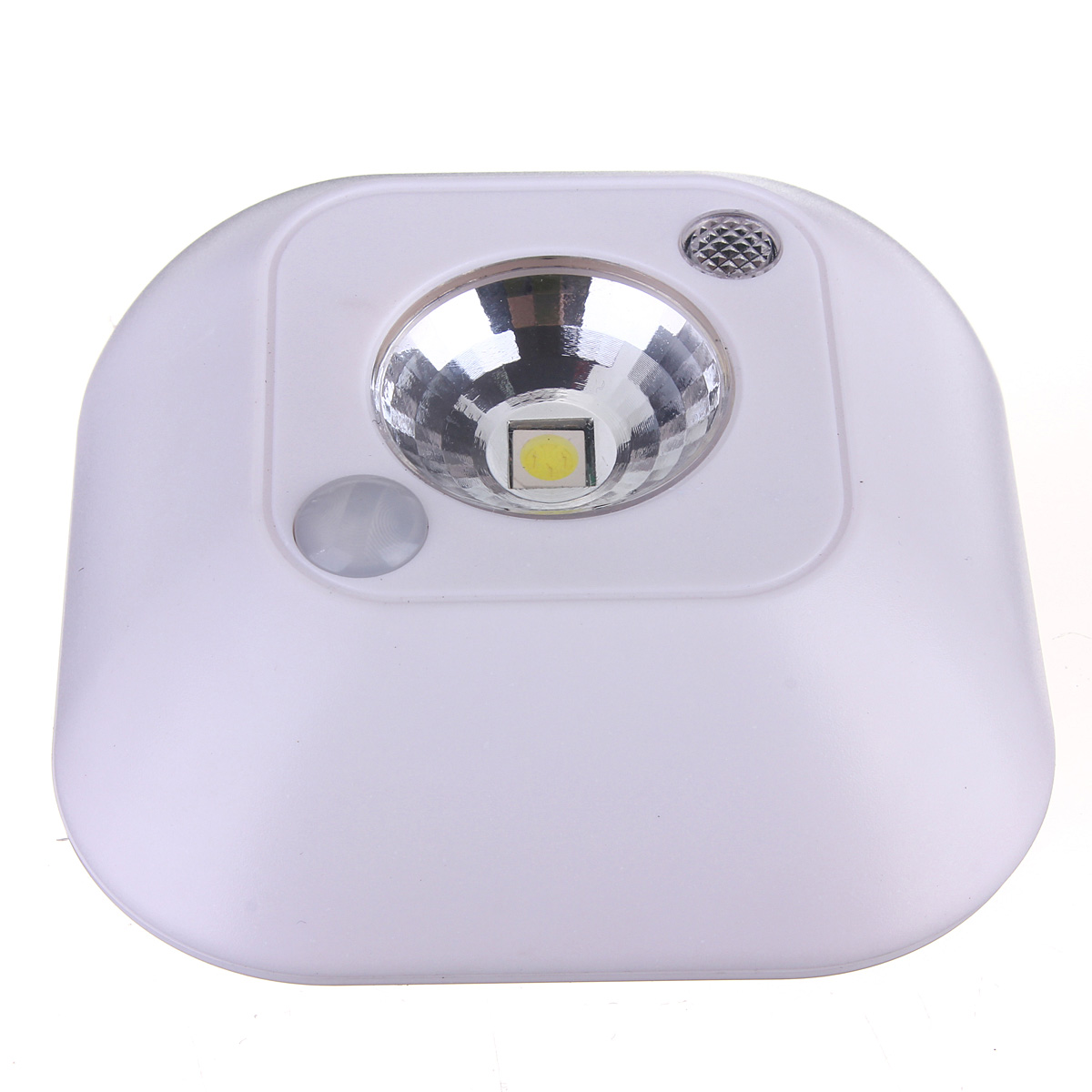 3PCS Mini Wireless PIR Motion Sensor Ceiling Night Light Battery Powered Porc