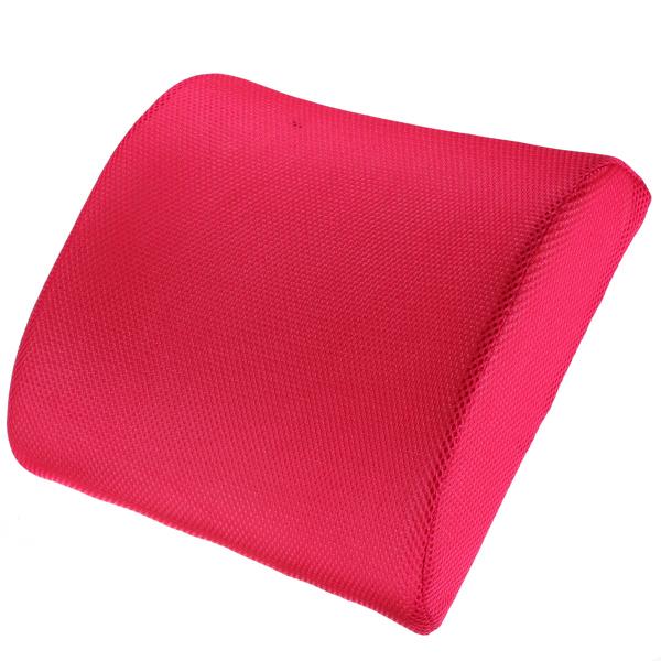memory foam lumbar back support cushion pillow for office