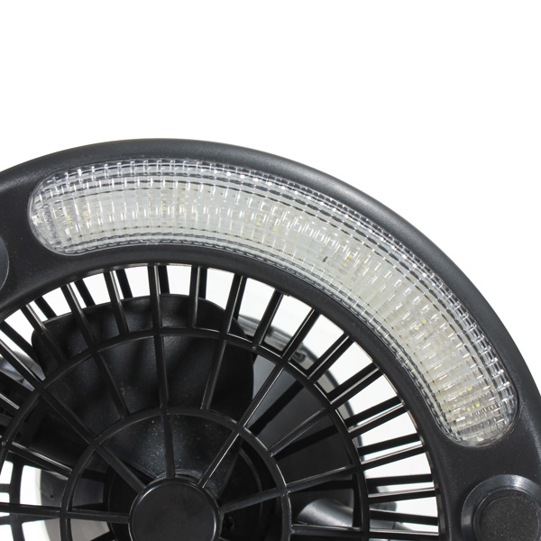 Portable Outdoor Overhead Fans : In portable led tent camp light with ceiling fan